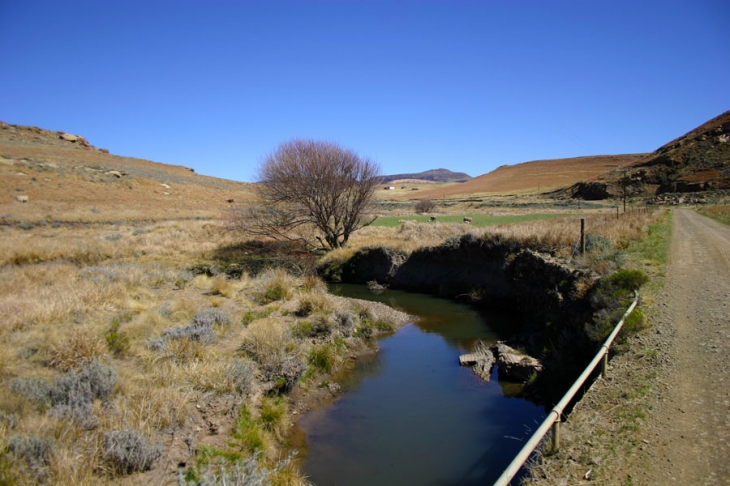 The source of the Sterkspruit