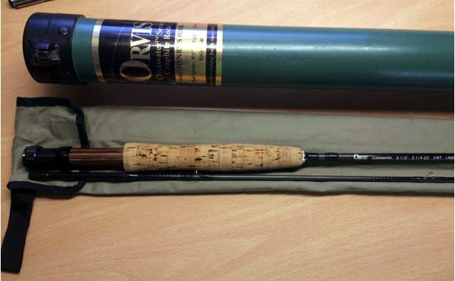 Orvis Clearwater fly rod 1