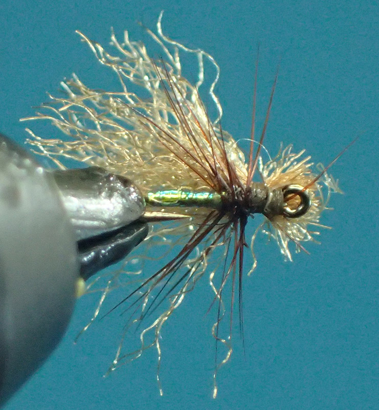 X3 Mirage Tinsel Caddis 1