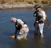 Catching Yellowfish in the Kraai River