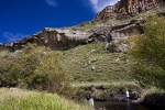 Crenated cliffs upper Sterkspruit Eastern Cape