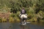 SUMMIT FISHING THE BOKSPRUIT ON HORSEBACK