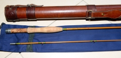A Gem of a bamboo fly rod. Auction result