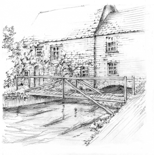 The upper Itchen on Stoke Mill from Yet More Sweet Days