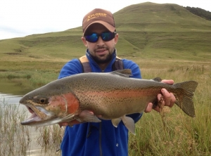 Jan Korrubel reports that the freshwater fly fishing in the KZN midlands is on fire at the moment!