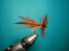 A stonefly pattern with a light and buoyant extended body - By Agostino Roncallo